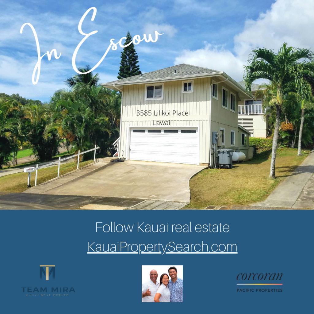 InEscrow Kauai home FB
