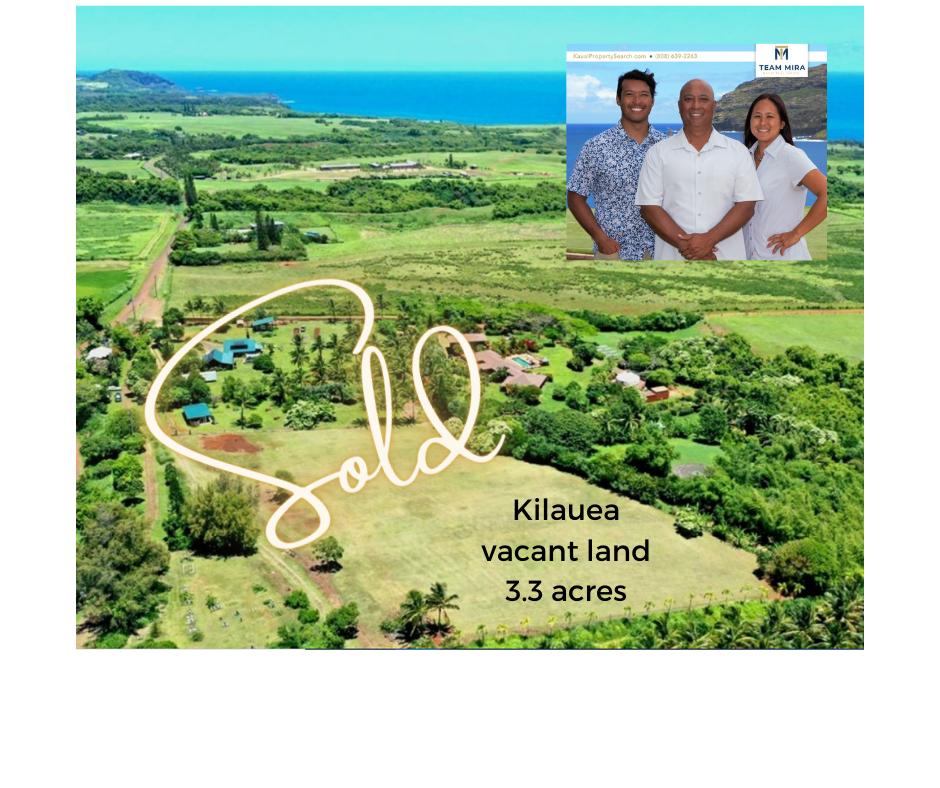 Kilauea land sale FB Team Mira